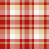 Plaid. Red and beige seamless plaid pattern Stock Photo