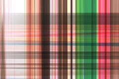 Plaid abstrait de couleur Photographie stock