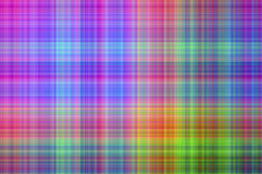 Plaid Background. Colorful plaid background in pink, blue, green and orange Royalty Free Stock Photo