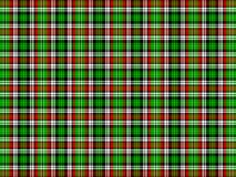 Plaid background. Red, green, black and white plaid background Stock Photo