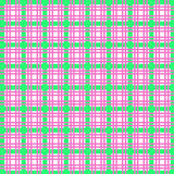 Plaid background. Pink and green plaid background pattern for scrapbooking stock illustration