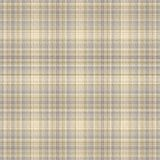 Plaid background. Plaid textured background in gray yellow and brown colors Stock Photos
