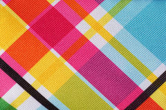 Plaid background. Colorful plaid pattern background with texture detail Stock Image