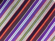 Plaid-Baumwollgewebe des bunten Hintergrundes und der abstrakten Beschaffenheit Stockfotografie