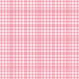 Plaid blanc rose de Seamles Photos libres de droits