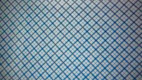 Plaid blue background Stock Photo