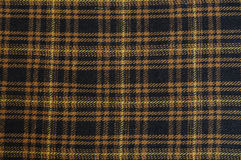 Plaid cloth Stock Image