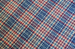 Plaid cloth Royalty Free Stock Image