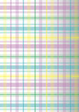Plaid coloré Images libres de droits