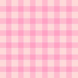 Plaid color match pink tone Royalty Free Stock Photography