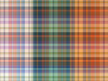 Plaid Cotton fabric of colorful background and abstract texture Stock Photos
