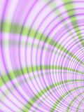 Plaid Curved Stripes Pattern. Abstract plaid swirls, spirals and curves in purple and green stripes royalty free illustration