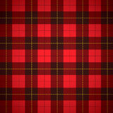 Plaid d'écossais de tartan de Wallace Images libres de droits