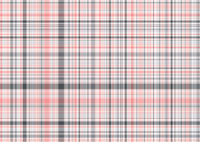 Plaid de rose en pastel et de gris Image stock