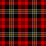 Plaid de Tartan Photos libres de droits