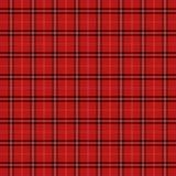 Plaid de tartan Cage d'écossais de modèle image libre de droits