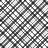 Plaid de tartan gris sans joint Photos libres de droits