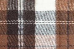 Plaid della lana Immagini Stock Libere da Diritti