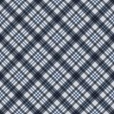 Plaid Seamless Pattern. Plaid design in colors of slate gray and blue vector illustration