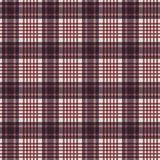 Plaid Seamless Pattern. Plaid design in lovely autumn colors stock illustration