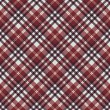 Plaid Seamless Pattern. Plaid design in lovely autumn colors royalty free illustration