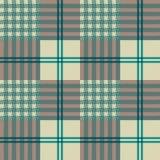 Plaid di Textille Fotografie Stock