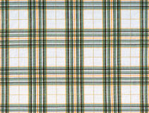 Plaid fabric. In green and gray colors royalty free stock image
