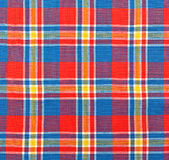 Plaid fabric. As a background Stock Images