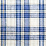 Plaid fabric. As a background Stock Photography