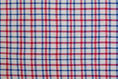 Plaid fabric as a background Stock Photo