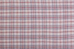 Plaid fabric as a background Stock Photography