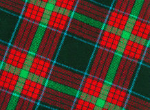Plaid fabric. With big cells royalty free stock photo