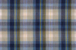 Plaid fabric. In blue and gray colours royalty free stock image