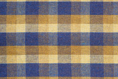 Plaid fabric close up Stock Photo