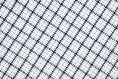 Plaid fabric cloth textured background Royalty Free Stock Photo