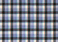 Plaid fabric. In cool colours stock images