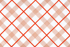 Plaid fabric. With large red cells royalty free stock images