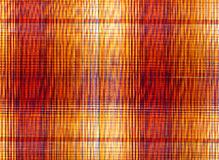 Plaid fabric. In red and orange colours royalty free stock images