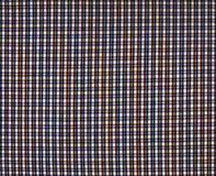 Plaid fabric. With small cells royalty free stock images