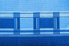 Plaid fabric texture for background. Close up. Toned Stock Images