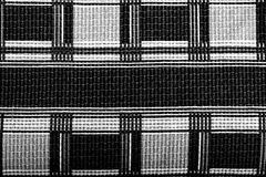 Plaid fabric texture for background. Close up. Toned Royalty Free Stock Photo
