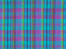 Plaid fabric texture Stock Photos