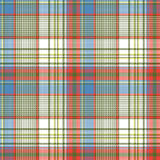 Plaid fabric texture square pixels shirt seamless pattern Stock Images