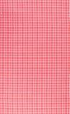Plaid fabric tiles Stock Image