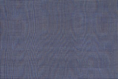 Plaid fabric. With very small cells stock image