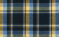 Plaid fabric. In warm colour stock photo