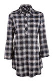 Plaid female shirt Stock Photography
