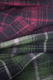 plaid flannel fabric cloth Royalty Free Stock Images