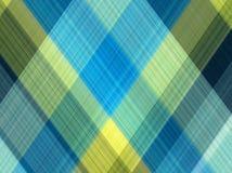 Plaid Katoenen stof van kleurrijke achtergrond en abstracte textuur Stock Afbeeldingen