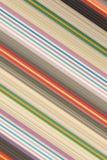 Plaid Katoenen stof van kleurrijke achtergrond en abstracte textuur Stock Foto's